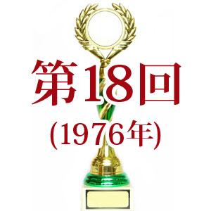第18回日本レコード大賞[1976年]
